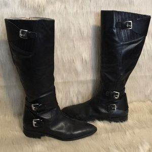 Micheal Micheal Kors Leather Knee High Boots 9.5